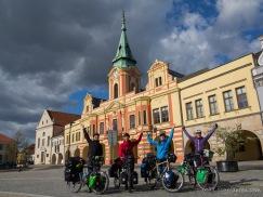 alle wollen nach Kasachstan - hier in Mělník mit Antje und Klaus