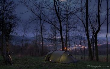 grandioser Campingspot hinter Děčín
