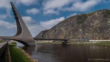 Brücke in Ústí nad Labem