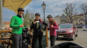 Begleitung von Olda zwischen Ústí nad Labem und Litoměřice