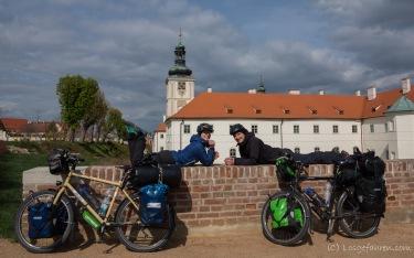 Blick auf das Jesuitenkolleg - Kutná Hora