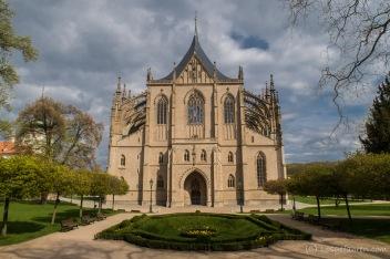 500 Jahre Bauzeit können sich wirklich sehen lassen! UNESCO- Weltkulturerbestätte - Dom der heiligen Barbara -Kutná Hora