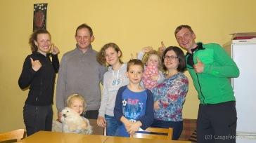 Jacek und Familie :-)
