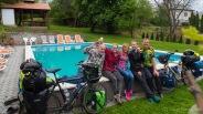 """Unsere ersten Gastgeber in Ungarn sind Holländer! Vielen Dank ihr Lieben! - """"Route 66"""" in Szilvásvárad"""