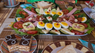 spendiertes Frühstück in Tiszafüred - Genial!
