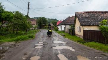 """""""weiße Straße"""" auf dem Weg nach Schäßburg"""