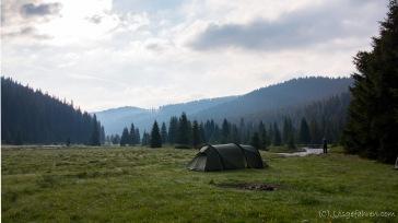 Transalpina - erstes Nachlager in den südlichen Karpaten