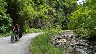 die letzte Gebirgsquerung vor Sibiu über das Lotrului- und das Cindrel-Gebirge