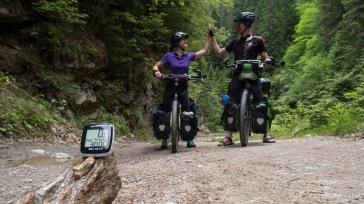 3000 km im Offroad-Gelände erreicht !(Querung des Lotrului- und Cindrel-Gebirges)
