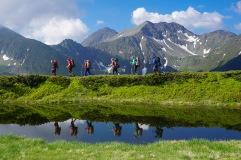 Herrliche Berglandschaft beim Aufstieg zum Fagaras-Hauptkamm (Foto: Holger Lieberenz)