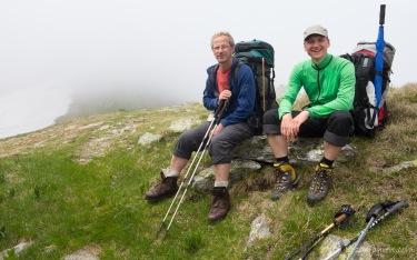 Arne und Lars, Serbota-Gipfel