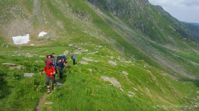 Aufstieg zum Negoiu-Gipfel (Foto: Holger Lieberenz)
