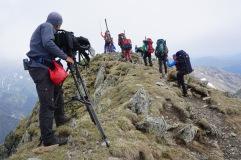 Ankunft am Negoiu-Gipfel. 2535 m - unser zweiter Gipfel und gleichzeitig Rumäniens zweithöchster (Foto: Holger Lieberenz)