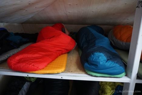 Nachtlager in der Caltun-Biwak-Schachtel (Foto: Holger Lieberenz)