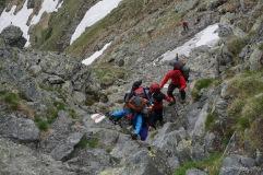 immer wieder schöne Kletterpassagen (Foto: Holger Lieberenz)