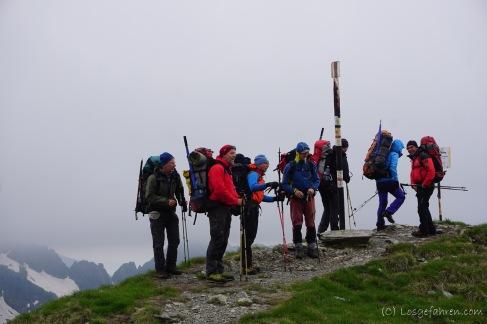 Berg heil am Lăiţel - 2390 m (Foto: Holger Lieberenz)