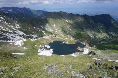 Balea Lac mit Transfagaras-Hochstraße (Foto: Holger Lieberenz)