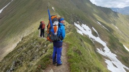 Gratweg zur Podragu-Hütte