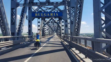 Donaubrücke nach Russe/ Bulgarien