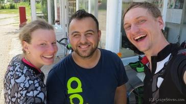Kezi lädt uns spontan zum Kaffee ein. Vielen Dank!! - Belovets, Bulgarien