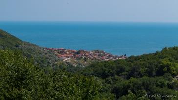 Großes Entsetzen! Das Schwarze Meer ist gar nicht schwarz - Balchik, Bulgarien