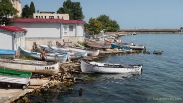 Fischerboote - Balchik, Bulgarien