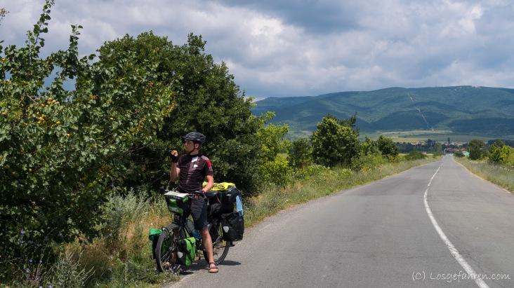 Erstmal schnell ein Kilo Nektarinen essen, Bulgarien