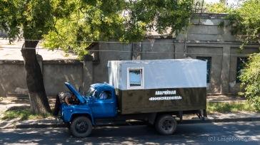Wenn der Pannendienst eine Panne hat - Odessa, Ukraine