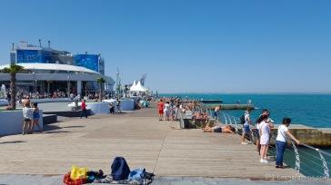 Promenade an der Küste - Odessa, Ukraine