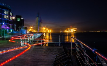 Abendstimmung am Stadthafen - Odessa, Ukraine