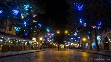 Abendstimmung in der Innenstadt - Odessa, Ukraine
