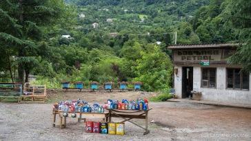 Tankstelle - Weg nach Khulo