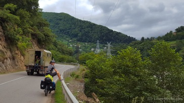 Weg nach Khulo