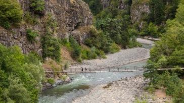 Brücke - Weg nach Khulo