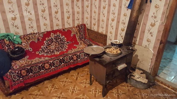 Der Backofen und Zweitherd in Gogias Küche