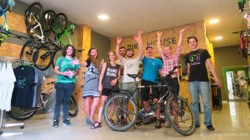 Danke euch allen !!! - Im Bike-House - Tbilisi