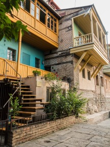 Betelm - das historische Stadtviertel gefällt uns am besten in Tbilis