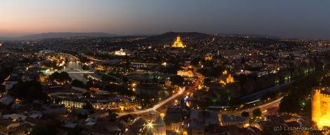 Blick von der Festung oberhalb von Betlem - Tbilis