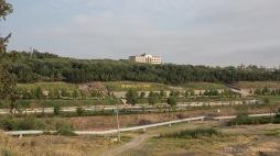 Heydar Aliev Park in Torux - sehr viel ist in Aserbaidschan nach dem ehemaligen Präsidenten benannt