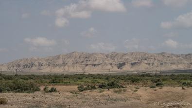Berge im Steppenland