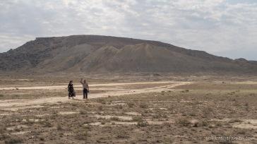 ... und verschwindet anschließend auch wieder in der Wüste