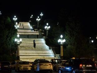 Baku bei Nacht