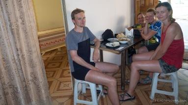 Ola und Marek aus Warschau sind in die gleiche Richtung unterwegs.