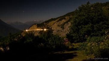 Nachtstimmung im Kaukasus