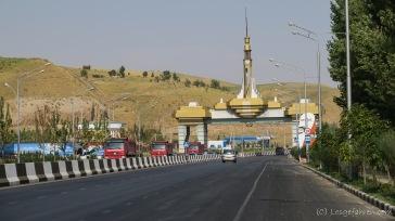 Wir verlassen Duschanbe