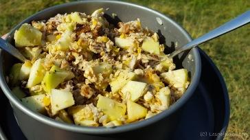 Gesundes Radlerfrühstück