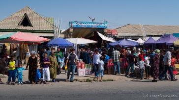 Markttreiben in Kulob