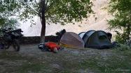 Nachtlager im Teehaus