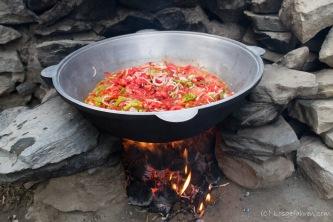 Rustikale Suppenküche - Das Ergebnis ist superlecker!