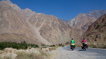 Auf den letzten Kilometern nach Khorog